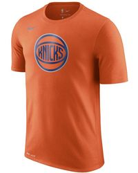 aba329066f3 Lyst - Nike New York Knicks City Edition Dry Men s Nba T-shirt in ...