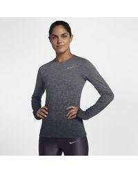 Nike - Medalist Long-sleeve Running Top - Lyst