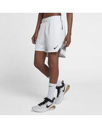 15aade5646ee Lyst - Nike Aeroswift Women s Basketball Shorts in Gray