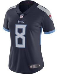 3929cf51156 Nike - Nfl Tennessee Titans (marcus Mariota) Women s Football Home Limited  Jersey - Lyst