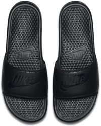 Nike - Benassi Badeslipper - Lyst