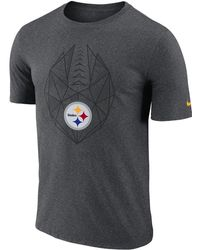 Nike - Dri-fit Icon (nfl Steelers) Men's T-shirt - Lyst