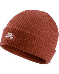 3739dbb2cab5 Nike Sb Fisherman Knit Hat in Yellow - Lyst