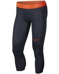 cc4a620f28 Lyst - Nike Pro Hypercool Men's Training Tights in Gray for Men