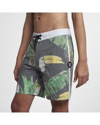 Hurley - Boardshort Hurley Toucan 45,5 cm pour Homme - Lyst