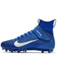 7093c26bb62 Nike Alpha Menace Elite Mid Men s Football Cleat for Men - Lyst