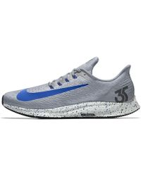 799afe60d9bf Lyst - Nike Air Zoom Pegasus 32 Id Men s Running Shoe in Blue for Men