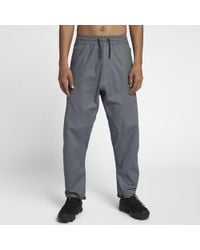 21fa2d5b7a4f Lyst - Nike Lab Acg Tapered Stretch-cotton Cargo Trousers in Green ...