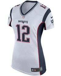 dd281249 Lyst - Nike Nfl New England Patriots (tom Brady) Women's Football ...