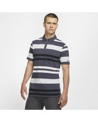 df29622d Nike Victory Mini Stripe Men's Standard Fit Golf Polo Shirt in Pink ...