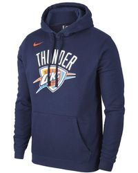 19d8fd12 Nike Oklahoma City Thunder Therma Flex Showtime Men's Nba Hoodie in ...