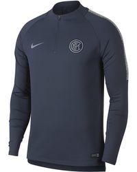 dea901817 Nike - Inter Milan Dri-fit Squad Drill Long-sleeve Football Top - Lyst