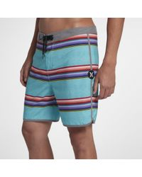 """Nike - Shorts da surf 18""""Hurley Phantom Serape - Lyst"""