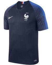 Nike - 2018 Fff Stadium Home Football Shirt - Lyst