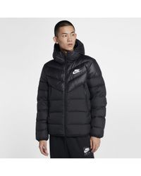 Nike - Giacca con cappuccio in piumino Sportswear Windrunner Down Fill - Lyst