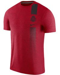 Nike - College Dri-fit (ohio State) Men's Short Sleeve Top - Lyst