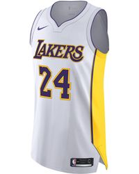 51c2e304c Nike - Kobe Bryant Association Edition Authentic (los Angeles Lakers) Nba  Connected Jersey -