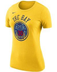 ba021a9402f26e Nike - Stephen Curry Golden State Warriors City Edition Dri-fit Women s Nba  T-