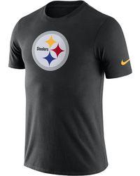 Nike - Essential Logo (nfl Steelers) Men's T-shirt - Lyst
