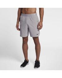 5e1cd38bf Lyst - Nike Flex Men's Slim Golf Shorts in Gray for Men
