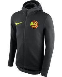 bde549da3 Nike Atlanta Hawks Therma Flex Showtime Nba Hoodie in Black for Men ...