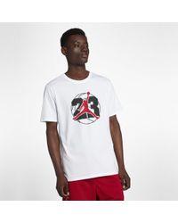 34881c14429f Nike Jordan Dri-fit 23 7 T-shirt in Red for Men - Lyst
