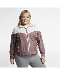 1f6bdc707 Nike Sportswear Windrunner Women's Jacket in Black - Lyst