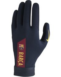 Nike - HyperWarm FC Barcelona Academy Fußballhandschuhe - Lyst