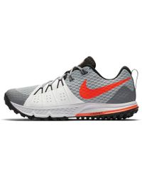 Lyst - Nike Air Zoom Wildhorse 4 Men s Running Shoe in Gray for Men 9fd4634f1