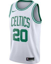 Nike - Gordon Hayward Association Edition Swingman Jersey (boston Celtics) Men's Nba Connected Jersey - Lyst
