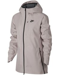 e6931a7616e2 Lyst - Nike Sportswear Advance 15 Women s Knit Jacket in Blue