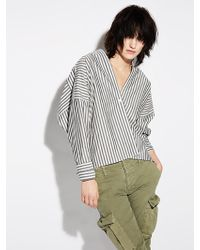Nili Lotan - Sabine Cotton Shirt - Lyst
