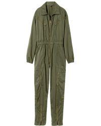 Nili Lotan - Surplus Green Maverick Flight Suit - Lyst