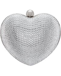 Nina - Amorie-silver Crystal - Lyst