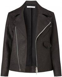 Julien David | Short Biker Jacket | Lyst