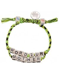 Venessa Arizaga | Exclusive | Word To Your Mother Bracelet | Lyst