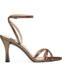 90e9126a2b9 Nine West - Frindor Strappy Sandals - Lyst