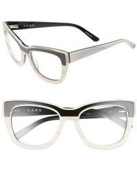 L.A.M.B. - 53mm Optical Cat Eye Glasses - - Lyst