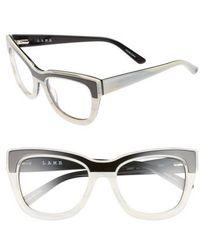L.A.M.B. - 53mm Optical Cat Eye Glasses - Lyst