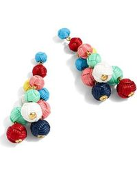 J.Crew | J.crew Love Knot Chandelier Earrings | Lyst