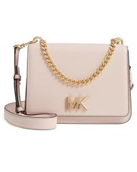 MICHAEL Michael Kors - Large Mott Chain Swag Leather Shoulder Bag - - Lyst