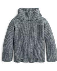 J.Crew - Ribbed Turtleneck Sweater - Lyst