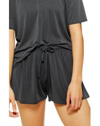 TOPSHOP - Lounge Shorts - Lyst