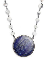 Ela Rae | Morah Semiprecious Stone Necklace | Lyst