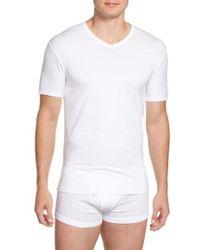 CALVIN KLEIN 205W39NYC - 2-pack Stretch Cotton T-shirt, White - Lyst