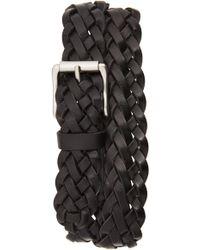 Frye - Woven Leather Belt - Lyst