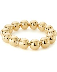 Lagos - 18k Gold Stretch Bracelet - Lyst