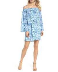 Lilly Pulitzer - Lilly Pullitzer Nevie Off The Shoulder Dress - Lyst