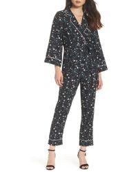 Adelyn Rae - Addison Pajama Jumpsuit - Lyst