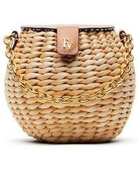 Frances Valentine - Mini Woven Bucket Bag - Lyst